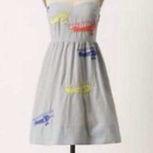 Anthropologie Wright Dress Moulinette Soeurs